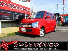新潟の中古車 スズキ ワゴンR 車両価格 9万円 リ済別 平成17年 10.2万K ブライトレッド2
