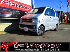 新潟県の中古車ならアトレーワゴン カスタムターボ 4WD キーレス ルーフレール 両側スライド