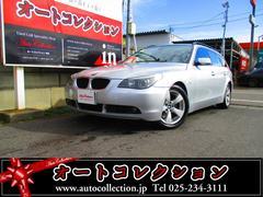 新潟県の中古車ならBMW 525iツーリングハイラインパッケージ 純正HDDナビ