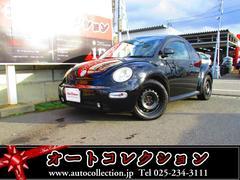 新潟県の中古車ならVW ニュービートル ディーラー車 HDDナビ ミュージックサーバー フォグ