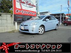 新潟県の中古車ならプリウス S ハイブリッド車 スマートキー エンジンスターター ETC