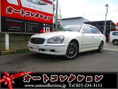 新潟県の中古車ならシーマ 450XV サンルーフ 革シート ETC バックカメラ付