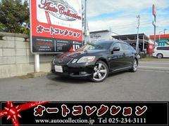 新潟県の中古車ならGS GS430 黒革シート HDDナビ・バックカメラ ETC付