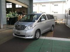 新潟の中古車 トヨタ アルファード 車両価格 199万円 リ済別 平成21年 4.2万K シルバー