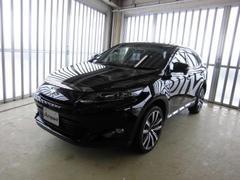 新潟県の中古車ならハリアーハイブリッド グランド 4WD 純正HDDナビ地デジ CVT