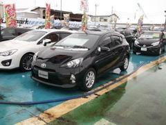 新潟の中古車 トヨタ アクア 車両価格 139万円 リ済別 平成24年 3.5万K ブラック