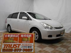 新潟県の中古車ならウィッシュ X キーレス 純正CD ETC