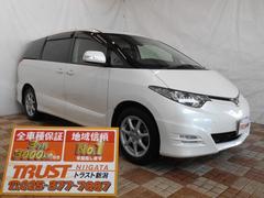 新潟県の中古車ならエスティマ アエラス 4WD SDナビ フルセグ
