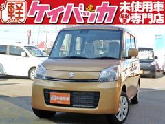 新潟県の中古車ならスペーシア X 4WD 届出済未使用車 レーダーブレーキサポート