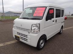 新潟県の中古車ならエブリイ PAリミテッド 4WD 届出済未使用車 プライバシーガラス