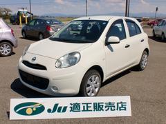 新潟県の中古車ならマーチ 12S Vパッケージ ETC 純正CD
