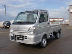 新潟県の中古車ならキャリイトラック KCエアコン・パワステ 届出済未使用車 4WD