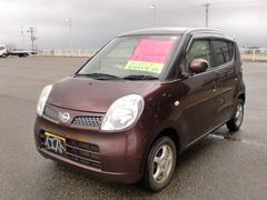 新潟県の中古車ならモコ E キーレススタート 純正CD オートエアコン 社外アルミ