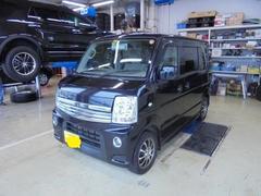 新潟県の中古車ならエブリイワゴン PZターボ 4WD 電動スライドドア HID