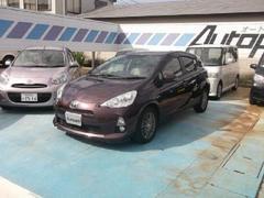 新潟県の中古車ならアクア S メモリーナビ ワンセグ