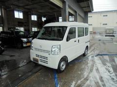 新潟県の中古車ならスクラム PA ハイルーフ 4WD 5MT