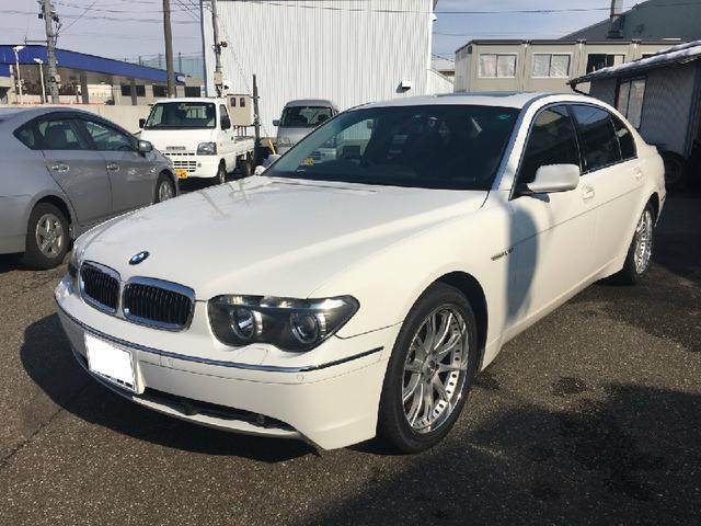 BMW 7シリーズ 760Li 黒革シート サンルーフ 右ハンドル...