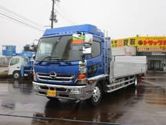 新潟県の中古車ならヒノレンジャー 6.7t 増トン ワイドベッド付 PG1,000kg付