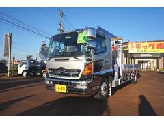 新潟県の中古車ならヒノレンジャー 約5.5t 増トン アルミブロック 5段クレーン 4.3t吊