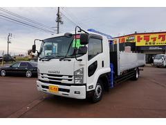 新潟県の中古車ならフォワード 7.9t 増トン ワイドベッド付 4段クレーン付