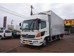 新潟県の中古車ならヒノレンジャー 3.05t ワイドベッド付 電動アルミウイング