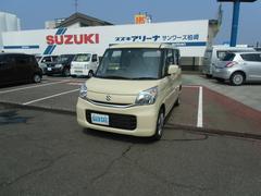 新潟県の中古車ならスペーシア X 4WD CVT フルセグメモリーナビ付