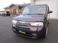 新潟県の中古車ならキューブ 15X Wエアバッグ スマートキー ナビ ABS