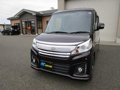 新潟県の中古車ならスペーシアカスタム XS 4WD 後期 ナビ TV