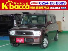 新潟県の中古車ならアルトラパン L 純正CDMDデッキ ETC