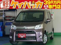 新潟県の中古車ならムーヴ カスタム G 社外CDデッキ HID スマートキー
