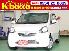 新潟県の中古車ならミライース X 純正CDデッキ インパネAT