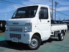 新潟県の中古車ならキャリイトラック 660 KCエアコン・パワステ3方開 4WD