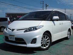 新潟県の中古車ならエスティマ 2.4アエラス 8人乗り