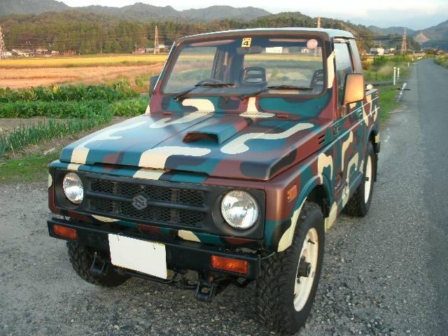 スズキ HC カスタムピックアップ 4WDターボ 5速マニュアル