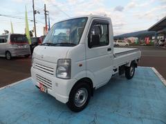 新潟県の中古車ならキャリイトラック KCエアコン・パワステ 4WD 5MT