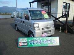 新潟県の中古車ならエブリイ PA ハイルーフ 4WD 届出済未使用車