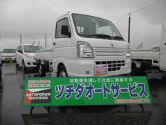 新潟県の中古車ならキャリイトラック KCエアコン・パワステ 4WD 届出済未使用車
