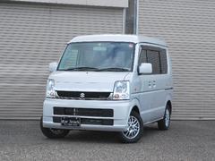 新潟県の中古車ならエブリイワゴン JPターボ 4WD 社外メモリーナビTV