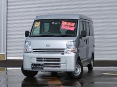 新潟県の中古車ならスクラム PC 4WD 5速オートギアシフト レーダーブレーキサポート