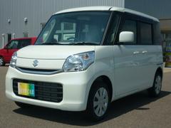 新潟県の中古車ならスペーシア G 4WD 届出済未使用車 スマートキー プッシュスタート