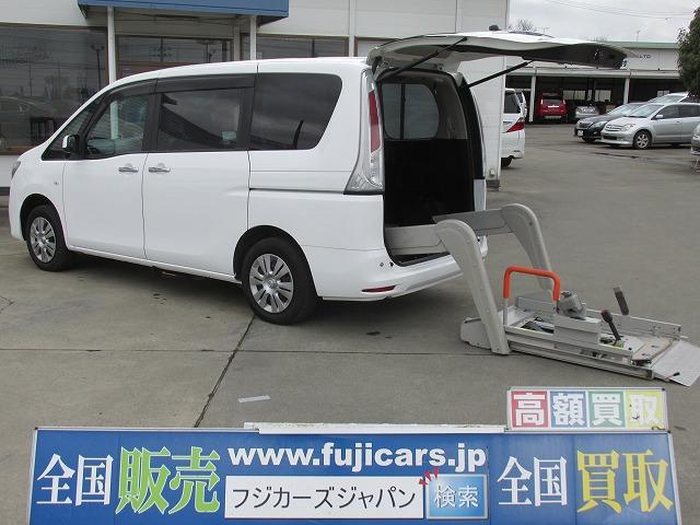 日産 福祉車輌 4WD 電動リフター オートステップ クルコン