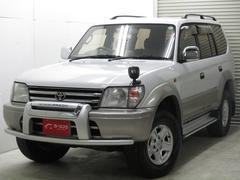 新潟県の中古車ならランドクルーザープラド TX パッケージI ワンオーナー 自社買取車 抗菌消臭加工済