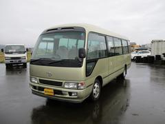 新潟県の中古車ならコースター 6MT 29人乗り 4200Dターボ