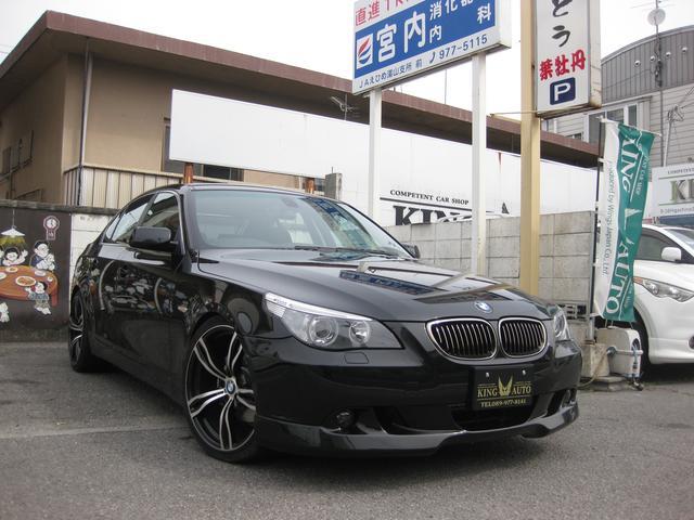 BMW 5シリーズ 525i 20AW 黒革シート (なし)