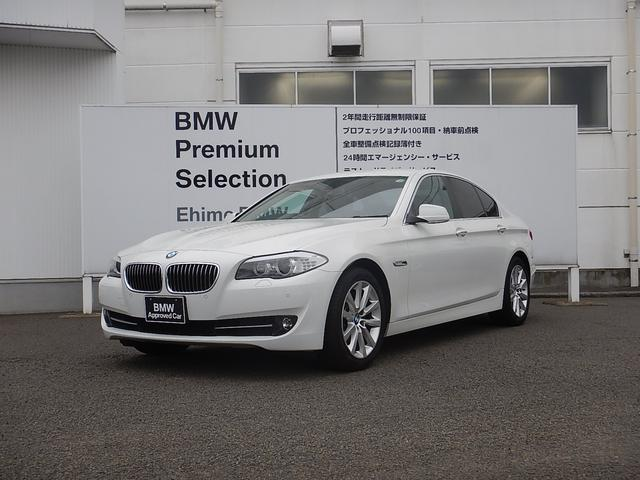 BMW 5シリーズ 528i ブラックレザー 18AW ワンオーナ...