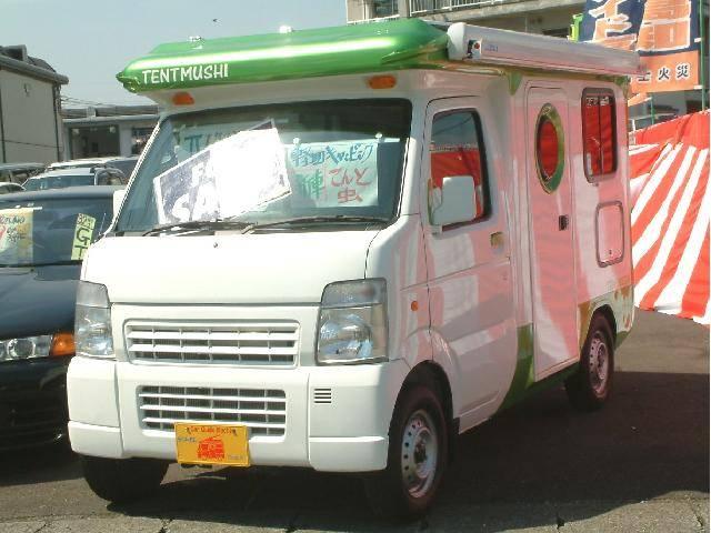 マツダ スクラムトラック KCスペシャル 4WD キャンピング