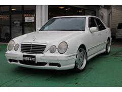 AMGE55 サンルーフ 黒革シート 自社新車輸入車