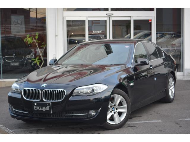 BMW 5シリーズ 528i 黒レザーシート 1オーナー (検29.6)