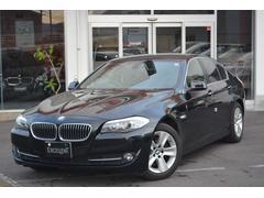 BMW528i 黒レザーシート 1オーナー