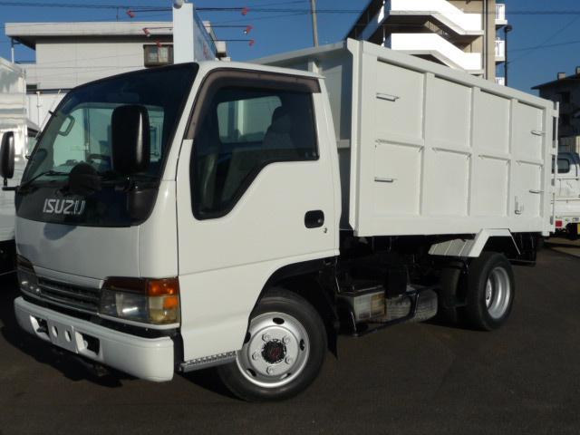 いすゞ エルフトラック 2トン深ダンプ 低床 4WD (なし)
